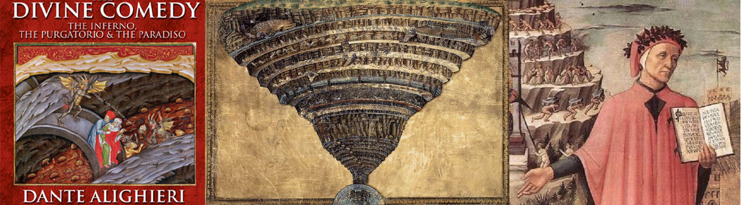 an analysis of the journey of heaven and hell in divine comedy by dante alighieri Study guide for divine comedy-i: inferno divine comedy-i: inferno study guide contains a biography of dante alighieri, literature essays, quiz questions, major themes, characters, and a full summary and analysis.