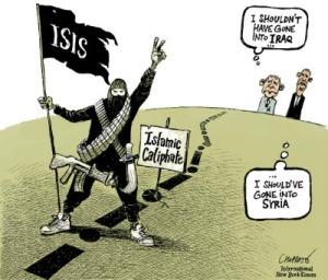 W.Bush: Irak'a «bulaşmamalıydım» B.Obama: Suriye'ye «bulaşmalıydım»