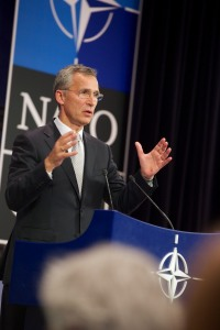Pre-ministerial briefing by NATO Secretary General Jens Stoltenberg - Brussels Headquarters - Oct.6, 2015