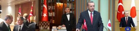 Daha yeni dikkatimi çekti ! Türk Bayrağı üzerindeki Cumhurbaşkanlığı Forsu…Daha önceki Cumhurbaşkanlarının resim albumlerinde bu şekline rastlamadım. Bayrak Kanunu'nda da şerh düşülmemiş. Değişti ise (kişisel talimat ile) o zaman Cumhurbaşkanının yurtdışında katıldıkları resmî toplantılar ve ziyaretlerde niçin kullanılmıyor ? Protokol Müdürlüğü'nün talimat alması mı gerekiyor ? GKB, MİT ve diğer resmî kurumların kendi forslarını eklemeleri mümkün mü ? Yanılgı içindeysem lütfen uyarın!