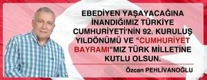 Özcan Bey Türk Cumhuriyet Bayramı