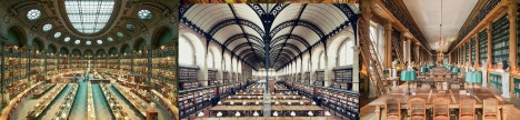 Libraries in Paris/France