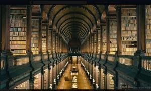 LIBRARY TRINITY COLLEGE _DUBLIN